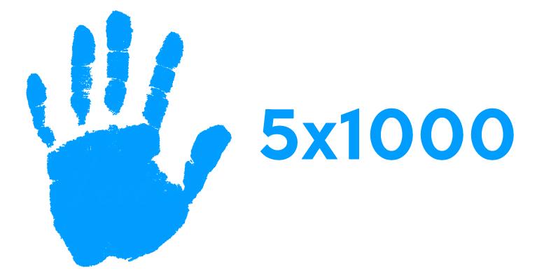 5×1000 All'ASD, iscrizioni entro il 12 aprile